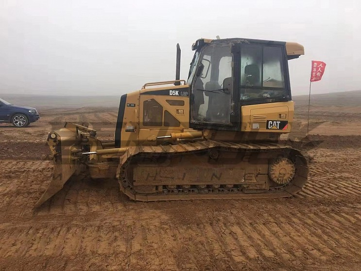 2008 Year CAT D5K LGP Bulldozer 7253 Hours