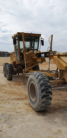 2014 YEAR CAT 140K MOTOR GRADER, ROPS, 3400 HOURS