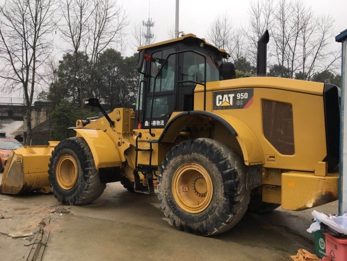 2018 Year 1100 Hour CAT 950Gc Wheel Loader
