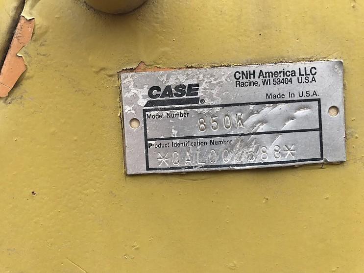 CASE 850K Bulldozer